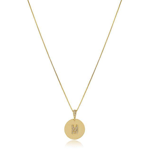 Colar-medalha-letra-inicial-do-nome-banhado-em-ouro-18k