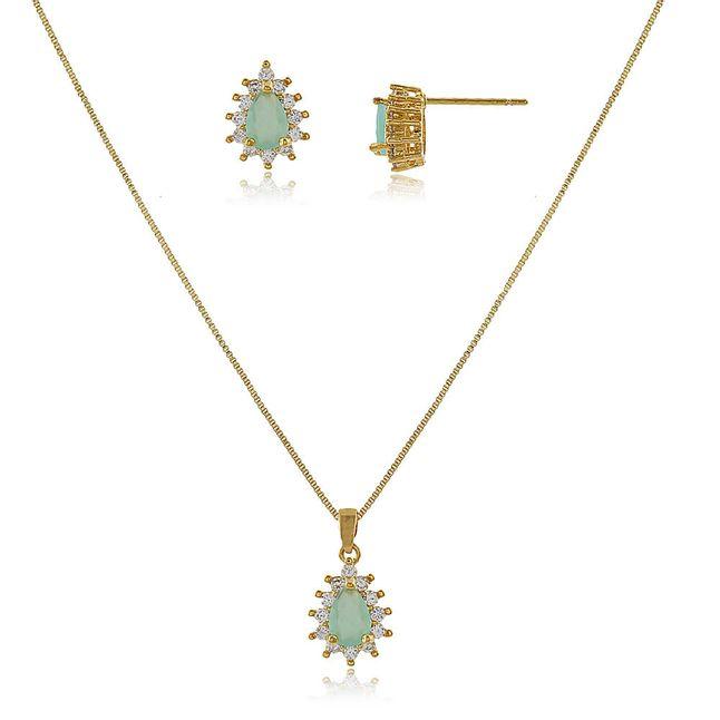 conjunto-gota-com-cristal-topazio-azul-cravejado-com-micro-zirconias-cristais-em-volta-banhado-em-ouro-18k