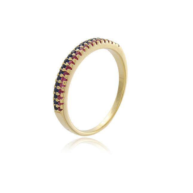 anel-meia-alianca-cravejada-com-zirconias-rubi-e-zirconias-azul-marinho-em-banho-de-ouro-18k