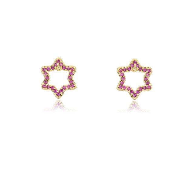brinco-de-estrela-vazado-todo-cravejado-com-micro-zirconias-rubi-em-banho-de-ouro-18k