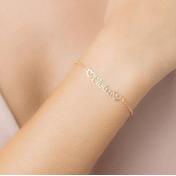 Pulseira-Personalizada-Nome-E-Dois-Coracoes-Banhado-Em-Ouro-18K