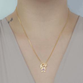 Colar-Com-Pingente-Menina-Cravejado-Com-Zirconias-Rubi-Em-Banho-de-Ouro-18K