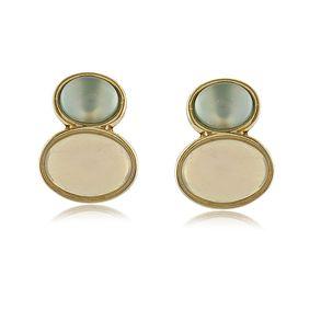 Brinco-Com-Pedras-Naturais-Agata-Azul-Ceu-E-Opalina-Em-Banho-De-Ouro-18K