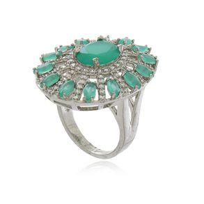 Anel-Oval-Com-Zirconias-Esmeralda-E-Cristal-Em-Banho-De-Ouro-18k
