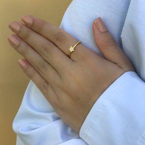 Anel-Estrela-Cravejado-Com-Zirconias-Cristais-Em-Banho-De-Ouro-18k