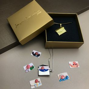 Colar-Relicario-Envelope-Com-Fotos-Em-Banho-De-Ouro-18k
